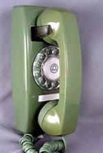 Green Wall Phone